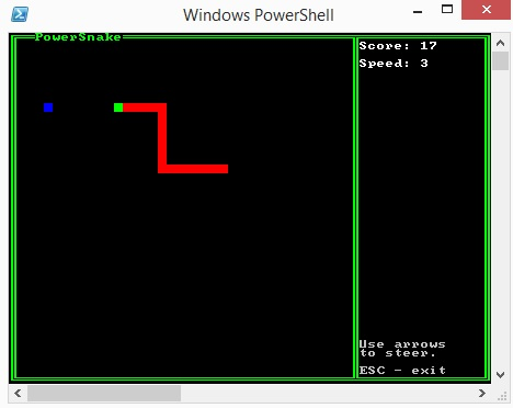 PowerSnake window